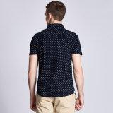 늦게 도매 남자를 위한 100%년 면 우연한 긴 /Short 소매 예복용 와이셔츠 디자인
