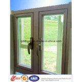 Окно Casement горячей безопасности сбывания дешевой алюминиевое