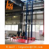 Elevador estacionário da carga do trilho de guia do armazém (SJD0.5-9C-1)