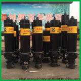 3-7 cilindro hidráulico telescópico dos estágios para o caminhão de Tipper