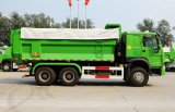 Sinotruk HOWO 6X4 290-371HP Uの形のダンプトラック