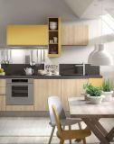 Gabinetes de cozinha Finished da melamina da placa de Partical