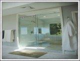 Vidrio endurecido claro del sitio de ducha a partir 8-12m m