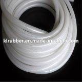 Tubo flessibile Braided curato platino della gomma di silicone del poliestere trasparente del commestibile