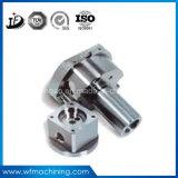 Peça feita à máquina do aço inoxidável da linha central da precisão 5/aço de carbono/aço de liga