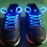 Цветастый проблесковый свет шнурков СИД вверх по шнуркам планки ручки зарева шнурков ботинка для партии