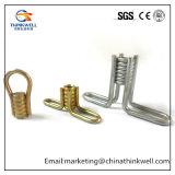 L'inserto del calcestruzzo prefabbricato si è svasato inserto sottile del ciclo della bobina della lastra