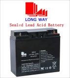 batería de plomo del AGM del almacenaje de reserva 12V18ah para el sistema de seguridad