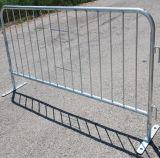 Barricada inteiramente galvanizada da estrada da alta qualidade que cerc com pés lisos