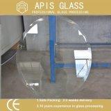 3-12m m claros/bajo planchan/endurecido/templaron el vidrio de la tapa de vector