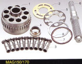Pièces de rechange de moteur hydraulique d'oscillation de M5X130/180 Mx150 et pièces de réparation