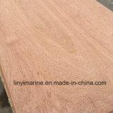 Cara de Meranti y madera contrachapada posterior de la base del álamo para los muebles BB/CC