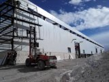 HのビームおよびCの母屋が付いているセリウムの証明の鉄骨構造の倉庫