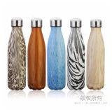Bouteille inoxidable de cadeau de bouteille de vide de bouteille d'eau de bosse en métal