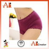 Ropa interior delgada de las mujeres de la ropa interior del ajuste del OEM Panty