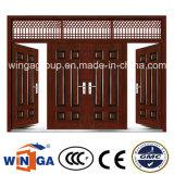 素晴らしいデザイン1200mmサイズの鋼鉄機密保護の金属のドア(W-SZ-01)