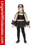 Costume платья Batgirl малышей Halloween Cosplay для девушок