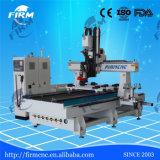 しっかりした木工業4の軸線CNCのルーター機械