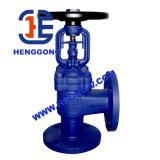 Нормальный вентиль поясного уголок уплотнения стали углерода API/DIN/Bellow Wcb