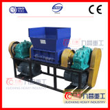 Double Shaft Shredder Tire Plastic Machine Glass
