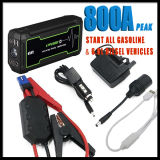 12V 800A Peak Current Mini Car Emergency Auto Jump Starter Power Bank 16800mAh