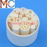 Tubo di ceramica del cilindro industriale dell'allumina per lo strumento di trazione di cristallo