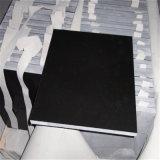 Baixo preço todos os projetos pretos das telhas de revestimento do granito