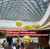Ballon gonflable décoratif de construction avec des éclairages LED