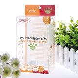 Rectángulos superiores baratos del PVC del claro del empaquetado/de la imagen doble por la lámina del alimentador del bebé