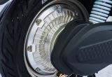 Motocicleta elétrica da caixa da carga com motor sem escova