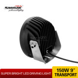 9inch 30 LED Headlight 저희 크리 말 LED Driving Light (SM6062-150W)