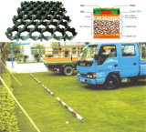 Pavimentadora plástica material de la hierba de la azotea verde del HDPE