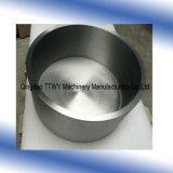 99.95% Creuset de tungstène de pureté pour le métal de fonte, cuvette de tungstène