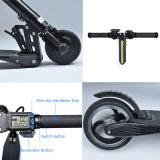 E-Scooter électrique de l'atterrisseur 8.8ah de scooter de fibre du carbone 24V250W