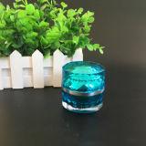 曇らされた装飾的な瓶およびクリームの瓶のプラスチック(NJ21)