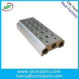 精密CNCフライス白アルマイトCNC機械加工部品、製粉の部品
