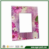 RoHS Certificationの高品質Rectangle Patterned Wooden Picture Frame