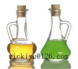 Frasco alaranjado 350ml do vinagre do vidro de frasco de vidro