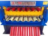 A telhadura corrugada da folha de metal lamina a fatura da manufatura da máquina