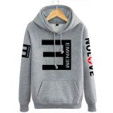 Изготовленный на заказ люди Hoodie пуловера способа хлопка оптовой продажи печатание экрана и фуфайка