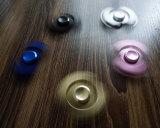 熱いベアリングおもちゃの金属指の落着きのなさ手の紡績工、金属の三紡績工