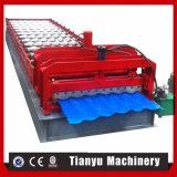 Hochgeschwindigkeits-PPGI glasierte die Fliese-Rolle, welche die Maschine bildet, die Maschine herstellt