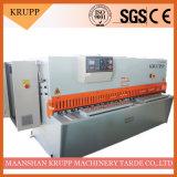 절단 6mm 강철을%s QC12y 6X2500 유압 깎는 기계