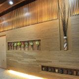 Placa da parede interior da grade de WPC/máquina decorativas ocas espumadas do painel