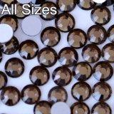 명확한 백색 Ab 편평한 뒤 결정 비 최신 고침 Flatback 유리제 모조 다이아몬드, 1440PCS