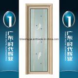 Дверь Casement панели китайской цены по прейскуранту завода-изготовителя Foshan тавра верхней части 10 алюминиевая стеклянная