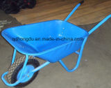 Hand-propelled Wb6412 Wheel Barrow para transportar mercadorias