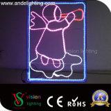 Heet verkoop van het LEIDENE van Kerstmis van 2D LEIDENE Motief van de Straat de Lichten van het Motief Pool van de Decoratie