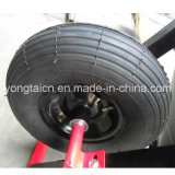 Felgen-Luft-pneumatisches Rad des Metall13inch 4.00-6 für Schubkarre