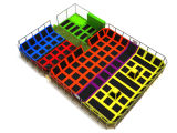 China Manufacturer Large Indoor Trampoline Park para The Young